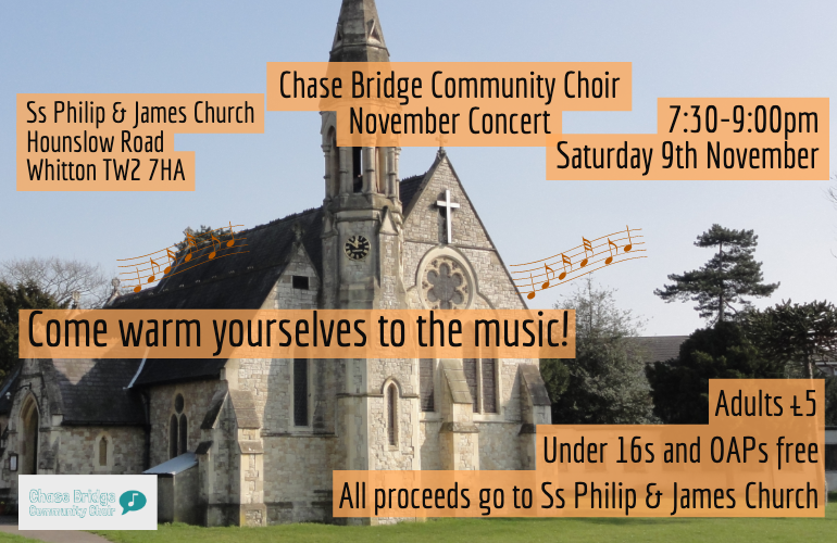 November Concert for Ss Philip & James Church, Whitton